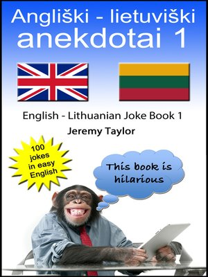 cover image of English Lithuanian Joke Book