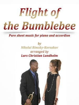 cover image of Flight of the Bumblebee Pure sheet music for piano and accordion by Nikolay Rimsky-Korsakov arranged by Lars Christian Lundholm
