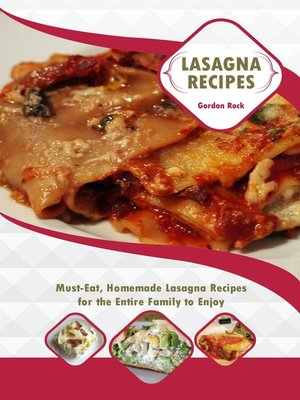 cover image of Lasagna Recipes