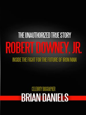 cover image of Robert Downey Jr. and the Fight for the Future of Iron Man
