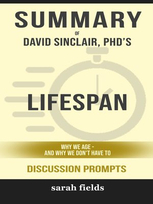 cover image of Summary of Lifespan