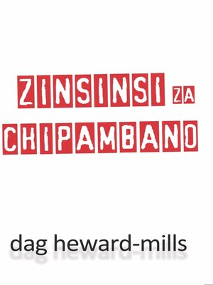 cover image of Zinsinsi Za Chipambano