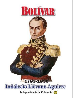 cover image of Bolívar 1783-1830