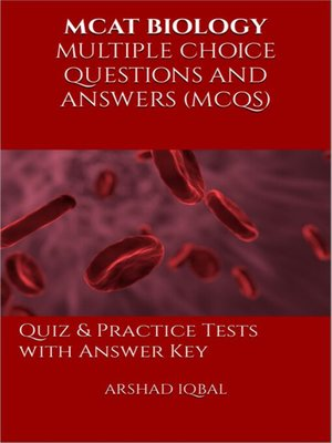 cover image of MCAT Biology Multiple Choice Questions and Answers (MCQs)