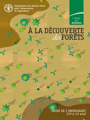 cover image of À la découverte des forêts