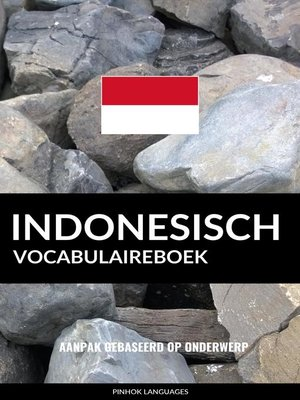 cover image of Indonesisch vocabulaireboek