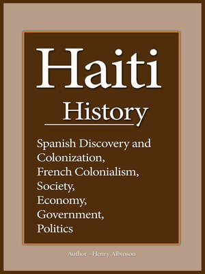 cover image of Haiti History