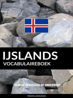 cover image of IJslands vocabulaireboek