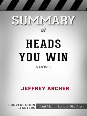 cover image of Summary of Heads You Win