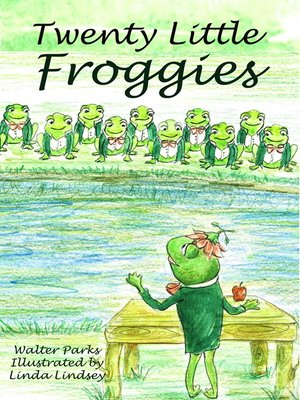 cover image of Twenty Little Froggies