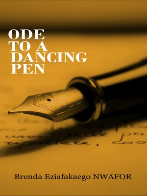 cover image of Ode to a Dancing Pen