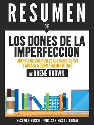 cover image of Los Dones De La Imperfeccion
