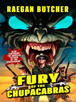 cover image of Fury of the Chupacabras