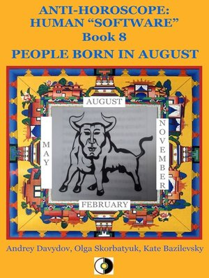 cover image of People Born In August