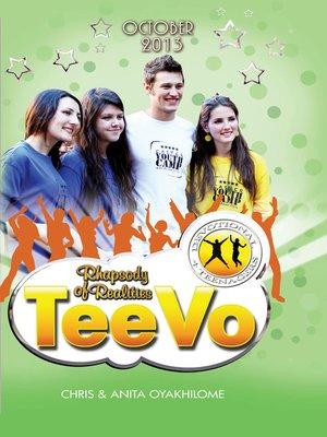 cover image of Rhapsody of Realities TeeVo October 2013 Edition