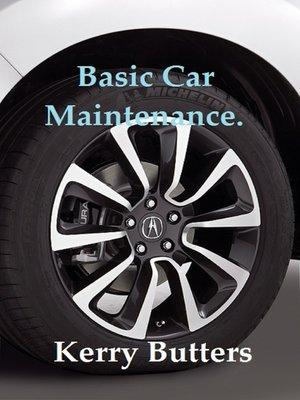 cover image of Basic Car Maintenance.