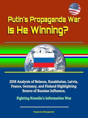 cover image of Putin's Propaganda War