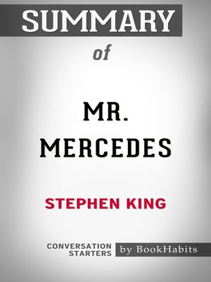 cover image of Summary of Mr. Mercedes by Stephen King / Conversation Starters