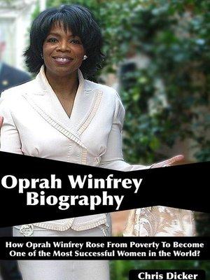 cover image of Oprah Winfrey Biography