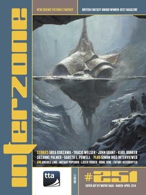 cover image of Interzone #251 Mar