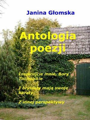 cover image of Antologia poezji