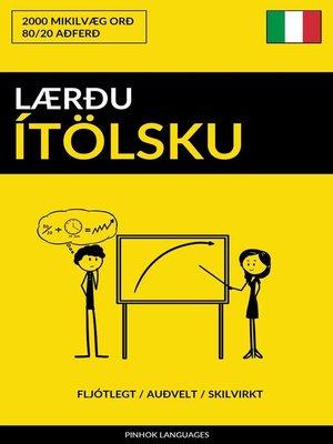 cover image of Lærðu Ítölsku