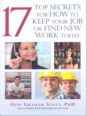 cover image of 17 Top Secrets to Keep Your Job or Find New Work Today