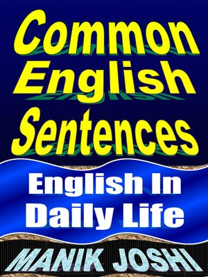 cover image of Common English Sentences