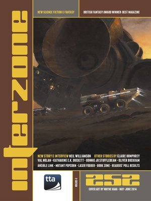 cover image of Interzone #252 May