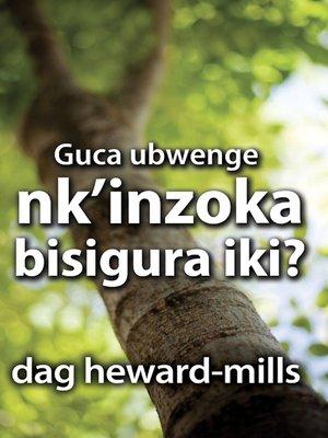 cover image of Guca ubwenge nk'inzoka bisigura iki
