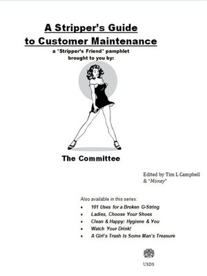 cover image of A Stripper's Guide to Customer Maintenance