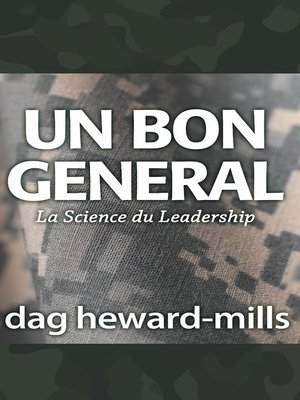 cover image of Un bon general