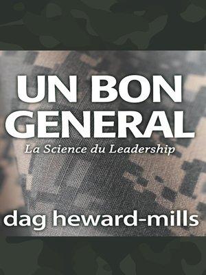 cover image of Un bon general