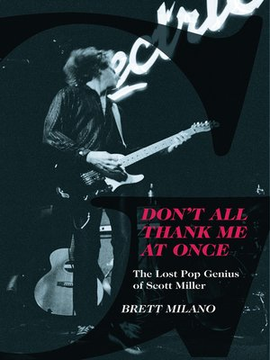 cover image of Don't All Thank Me At Once