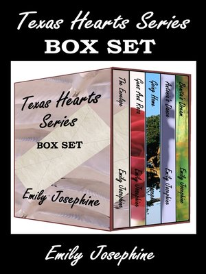 """cover image of """"Texas Hearts"""" Series Box Set"""