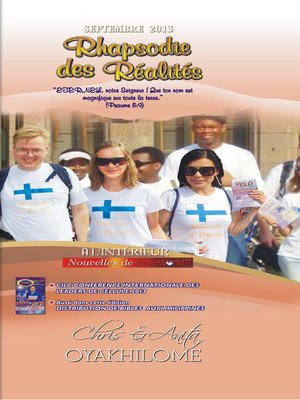 cover image of Rhapsody of Realities September 2013 French Edition