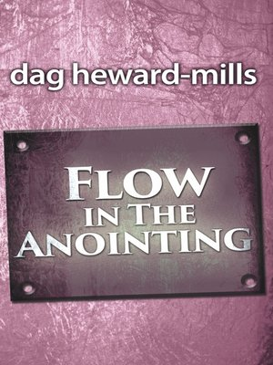 cover image of Flow in the Anointing