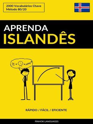 cover image of Aprenda Islandês