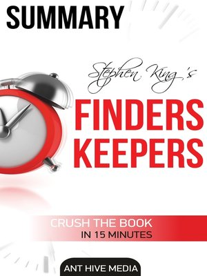 cover image of Stephen King's Finders Keepers Summary