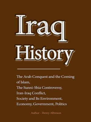cover image of Iraq History