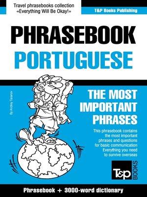 cover image of Phrasebook Portuguese