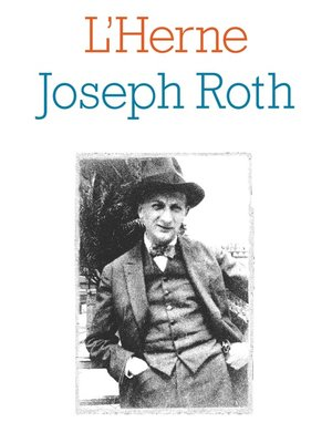 cover image of Cahier Joseph Roth