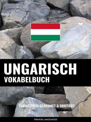 cover image of Ungarisch Vokabelbuch