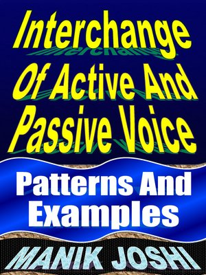 cover image of Interchange of Active and Passive Voice