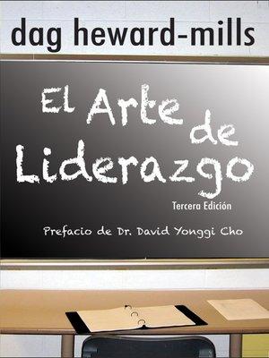 cover image of El Arte de Liderazgo