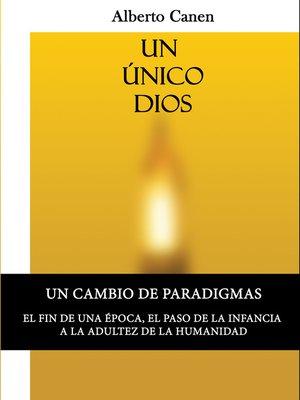 cover image of 1ed, Un unico Dios