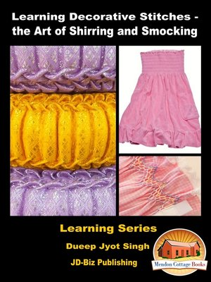 cover image of Learning Decorative Stitches