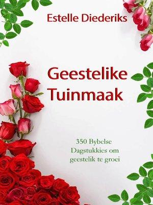 cover image of Geestelike Tuinmaak