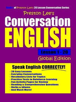 cover image of Preston Lee's Conversation English Lesson 1