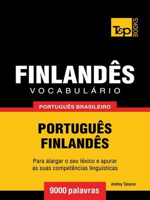 cover image of Vocabulário Português Brasileiro-Finlandês